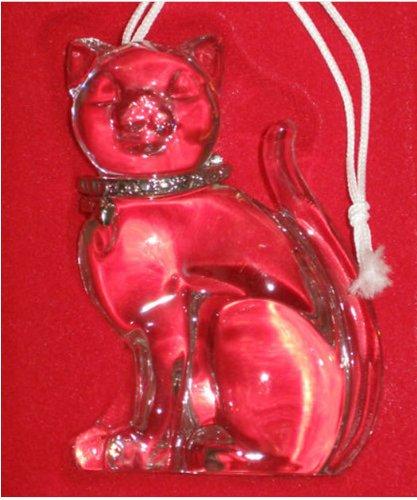 Lenox Pave Jewels Full-Lead Crystal Cat Ornament (2000)