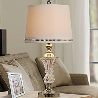 Luxe Crystal Table Lamp Gold: Amazon
