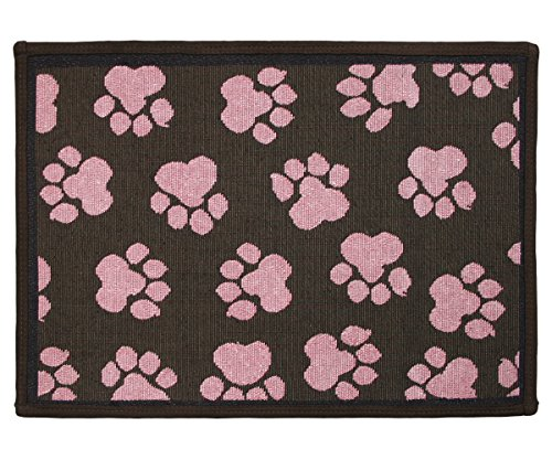Sorbet Collection (PB PAWS PET COLLECTION BY PARK B. SMITH World Paws Tapestry Indoor Outdoor Pat Mat, Woodland/Sorbet, 13 x 19
