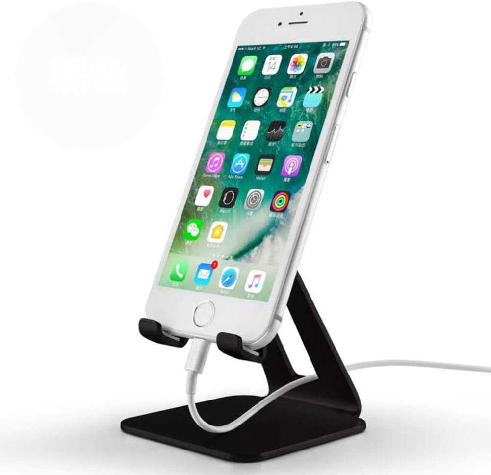 Universal and Portable Desktop Stand for All Smartphones,Black ZXY Mobile Phone Holder