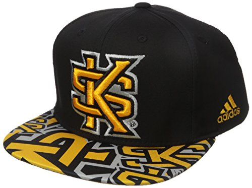 best website 56e0d 62fd8 adidas NCAA Kennesaw State Owls Men s Layered Snapback, Black, One Size