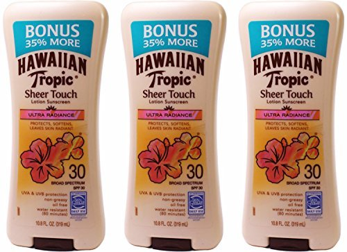 hawaiian-tropic-sheer-touch-broad-spectrum-sunscreen-lotion-ultra-radiance-spf-30-108-ounce-pack-of-
