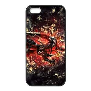 Deadpool iPhone5s Cell Phone Case Black WON6189218032691