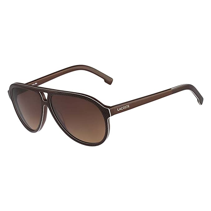 Lacoste Gafas de Sol L741S (59 mm) Marrón: Amazon.es: Ropa y ...