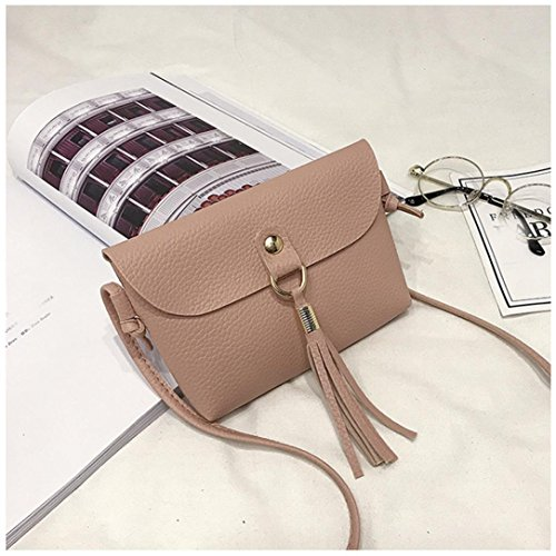 Bag Shoulder Tassel Bag Women Small TOOPOOT Shoulder Lady Tote Deals Handbag Pink Clearance q8BUPO