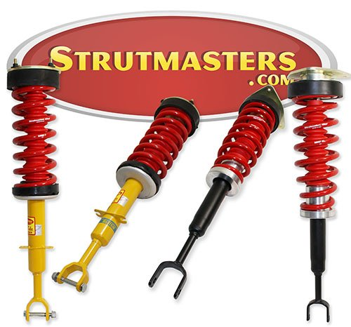 Strutmasters 4 Wheel Air Suspension Conversion Kit for 2002-2009 Audi A8