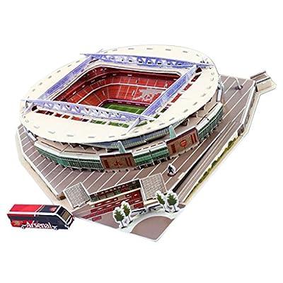 B Blesiya Modello Campo Di Calcio Stadio Di 9 Diversi Paesi Puzzle 3d Oggetti Da Collezione Emirati