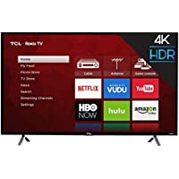 "TCL 49S405 49"" 4K Ultra HD 2160p 120Hz HDR Smart LED Roku HDTV (2017 Model)"