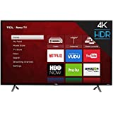 "TCL 49S405 4K UHD Smart LED Roku TV (Certified Refurbished), 49"", Black"