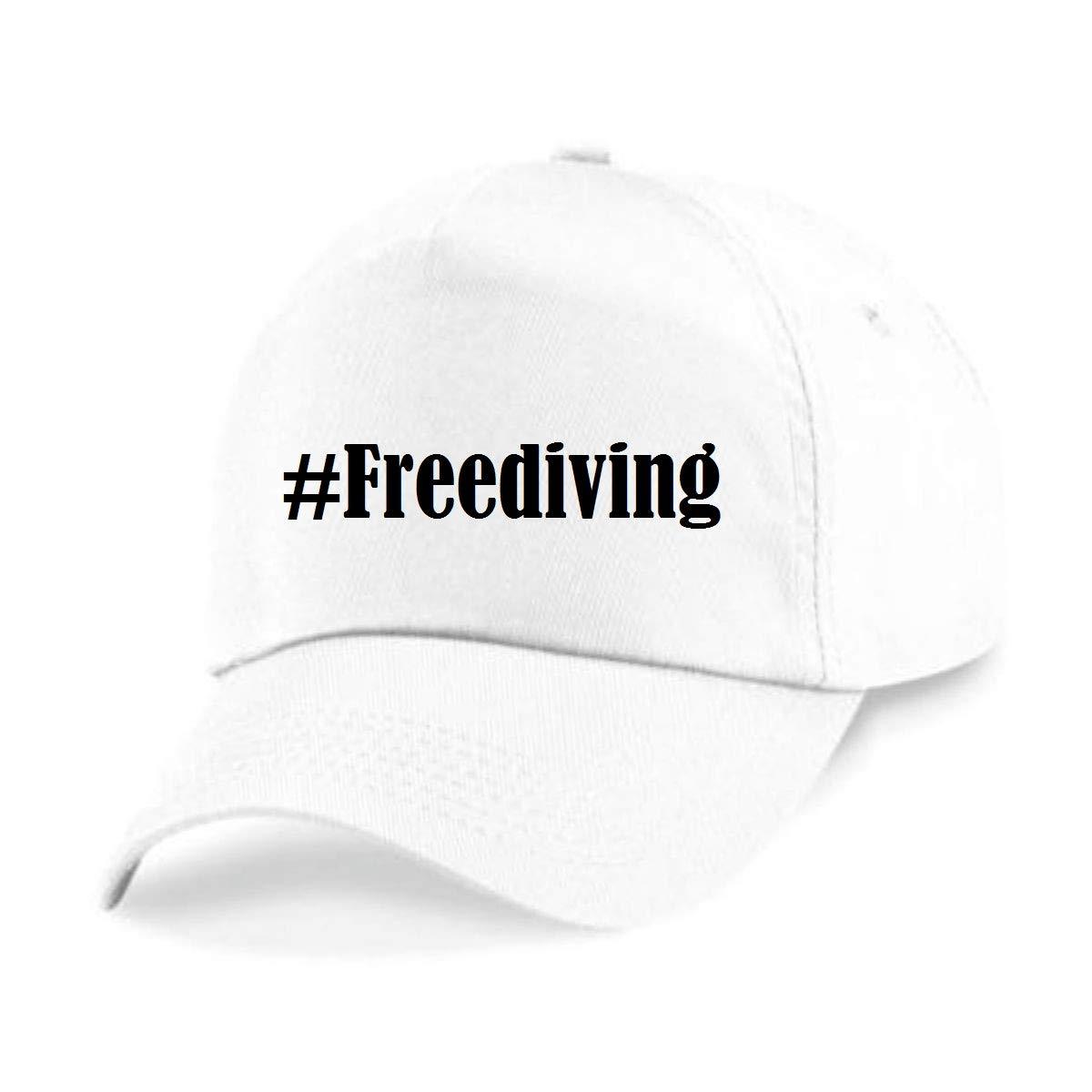 Casquettes de Baseball #Freediving Hashtag Diamant Social Network Basecap pour Les Hommes Femmes Gar/çon /& Fille en Noir