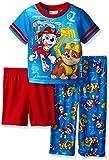 Paw Patrol Boys Marshall and Rubble Safety Tech 3-Piece Pajama Set