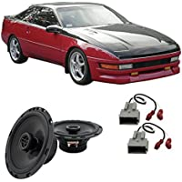 Fits Ford Probe 1998-1992 Front Door Factory Replacement Harmony HA-R65 Speakers New
