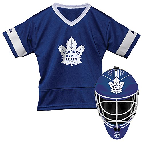 Franklin Sports NHL Toronto Maple Leafs Youth Team Uniform Set, Blue, One Size
