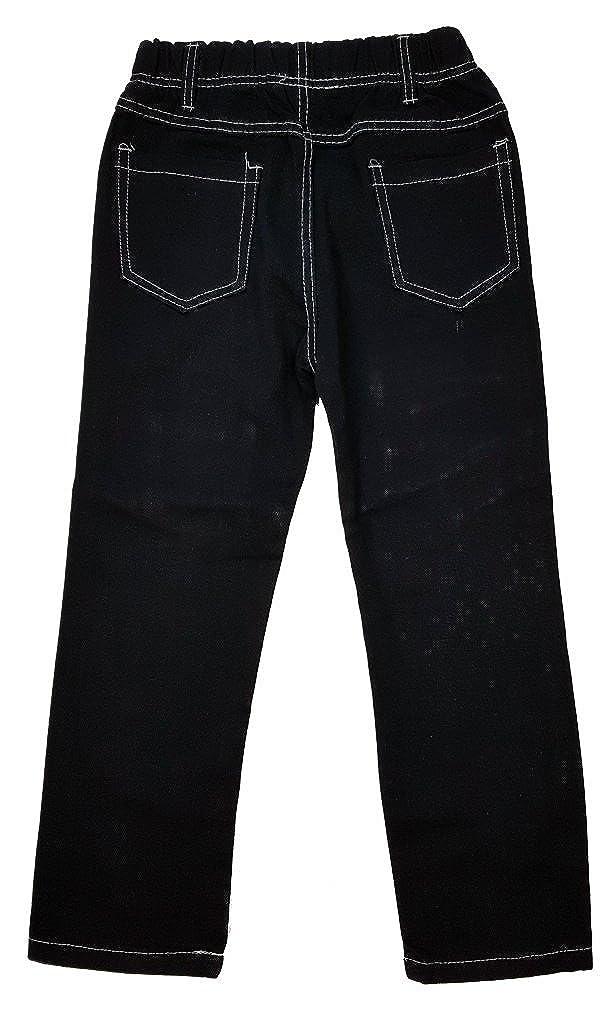 J74 Unbekannt Bequeme Jungen Jeans mit rundum Gummizug