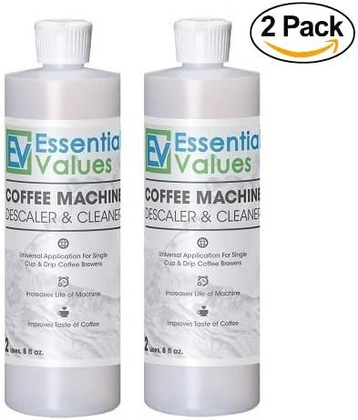 Keurig Descaler (2 PACK), Universal Descaling Solution For Keurig, Delonghi, Nespresso And All Single Use, Coffee Pot & Espresso Machines By Essential Values …