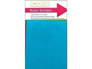 G.E. Designs GE Designs 192pc GEasy Ruler Stickers