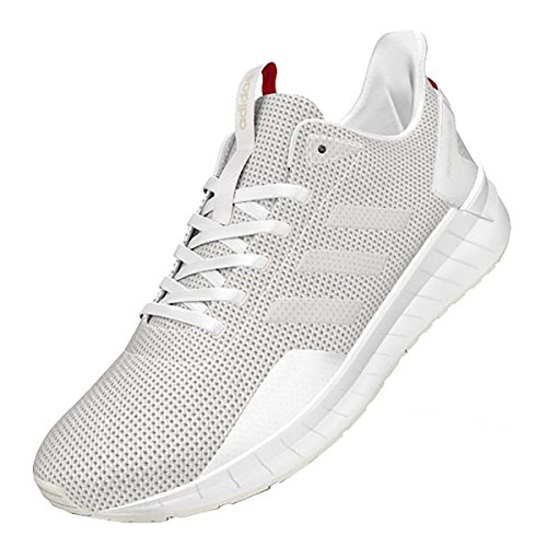 adidas Mens Questar Ride Running Shoe Grey Three/White/Grey Four 11 M US