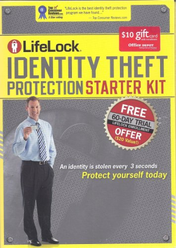 Lifelock Identity Theft Protection Starter Kit