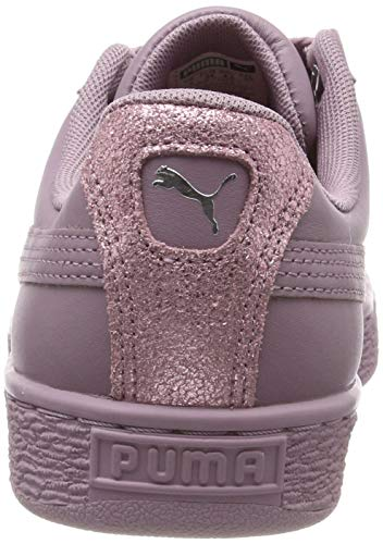 Heart Bio Wn's Violet Femme elderberry puma Silver Puma Basses Sneakers Basket Hacking gwAn5E