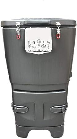 XMGJ 120L Compost Bin, Simples de la casa al Aire Libre Jardín Patio Compost Bin, Cocina Residuos, Reciclaje de Residuos de jardín Compost Bin (Color : A): Amazon.es: Hogar