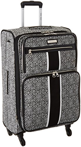 ninewest-naia-24-inch-expandable-spinner-black-white-one-size