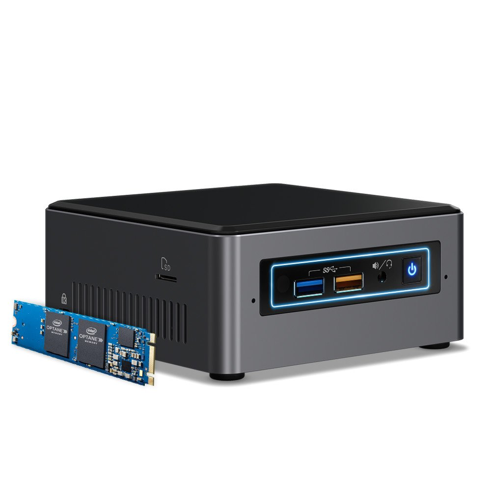 Intel BOXNUC7I3BNHX1 NUC Kit with 16GB Optane memory preinstalled by Intel