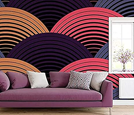Wallpaper Mural Modern Fashion Hand Drawn Vector Colorful