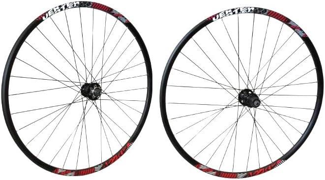 Berg Pack Ruedas Bicicleta Vertex Xc29 9S SRM 32H BK_Cy Negro: Amazon.es: Deportes y aire libre