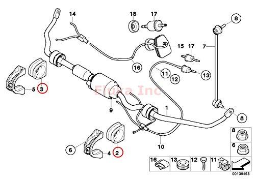 BMW Stabilizer Sway Bar Bushing - 21.8