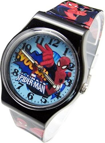 Marvel Spider-Man Wrist Watch For Kids.Large Analog Dial.