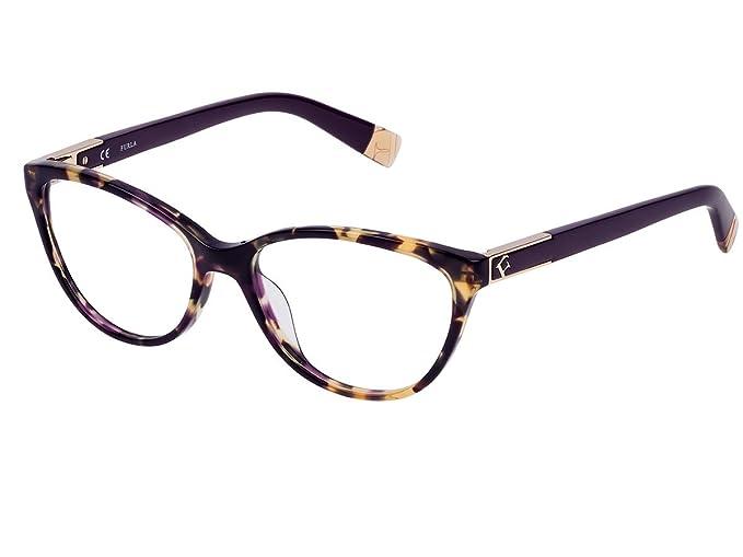 pacchetto elegante e robusto donna come ottenere Occhiali da vista Montatura Furla VU4977 0AEN: Amazon.it ...