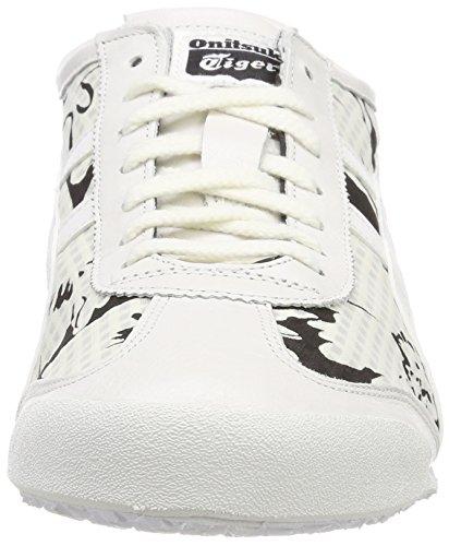 da donna Tiger Mexico 0101 Sneakers bianco bianche 66 Asics bianco Onitsuka PqSXwCXF