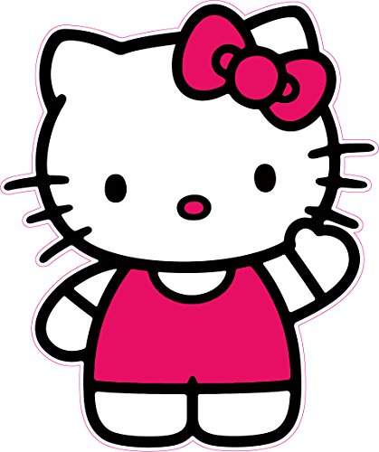 Nostalgia Decals Hello Kitty Decal Wall Decor 24