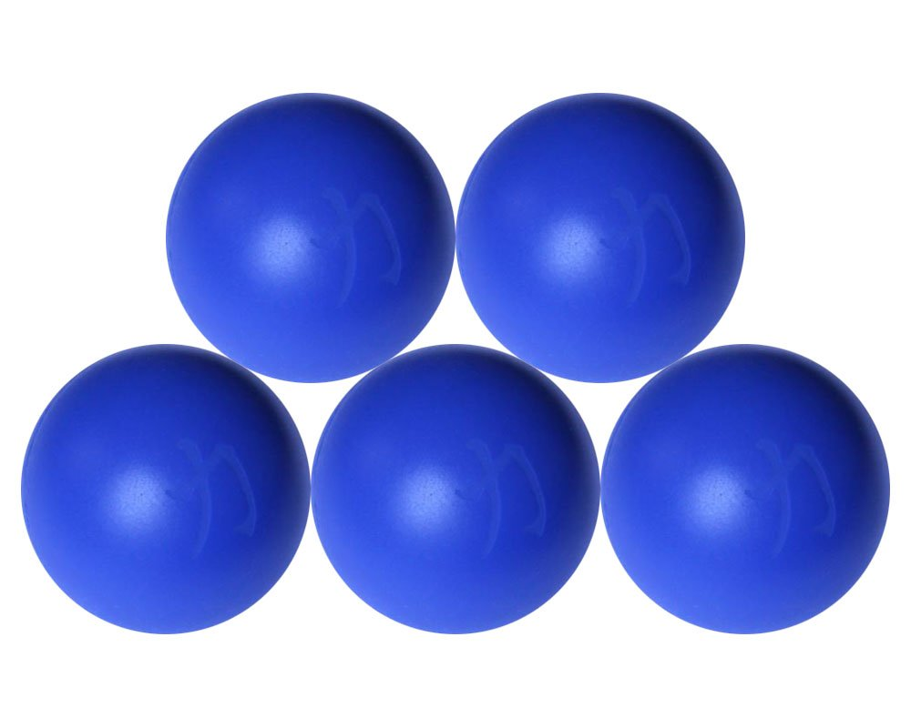 /Ø 69 mm blau Strengthshop Lacrosse-B/älle im F/ünfer-Set Triggerpunkt Trigger Point Myofascial SMR Selbstmassage Massage