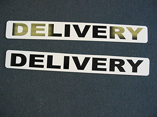 DELIVERY Magnetic signs to fit Car, Tow Truck, Van SUV US DOT Approved Size