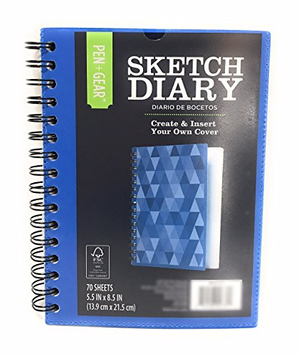 (Artists Sketch Book Pad 70 Sheets 8.5
