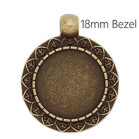 20 piezas/acabado en bronce envejecido chapado en juego de ...
