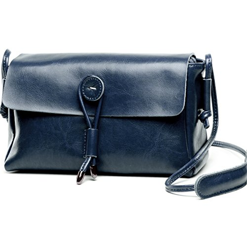 Lecxci Genuine Leather Crossbody Shoulder