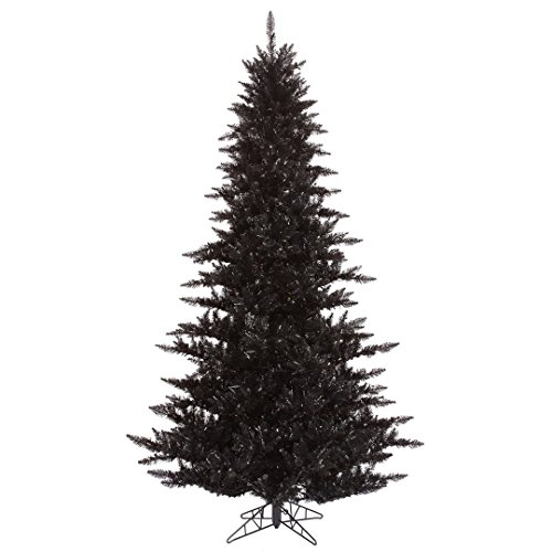 Vickerman K161730 Fir Tree with 234 PVC Tips in a Metal Stand, 3' x 25