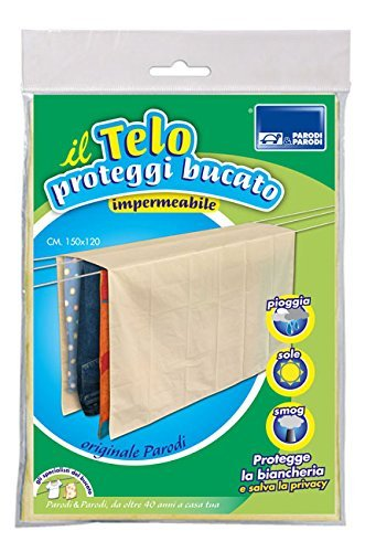 Impermeable y Transpirable. Tela antilluvia Color Beige Parodi /& Parodi Tela para Cubrir el tendedero 150 cm/x 120/cm