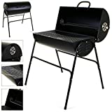 Marko Outdoor BBQ Charcoal Barbecue Smoker Outdoor Garden Black Cooking Grill Patio Barbeque