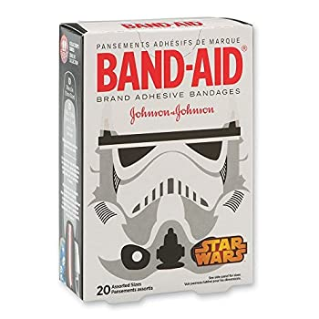 Band-Aid Star Wars Bandages Assorted Sizes (Actual Designs May Vary) - 20 per Pack