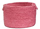 Seascape Utility Basket, 18 by 12-Inch, Blossom Pink