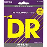 DR Strings Electric Guitar Strings, Hi-Beam, Hex Core 10-46