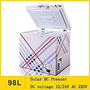 SSLL 98L Nevera Coche con Compresor PortáTil Nevera Coche DC 12v ...