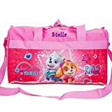 Personalized Licensed Kids Travel Duffel Bag - 18' (Girls Paw Patrol)