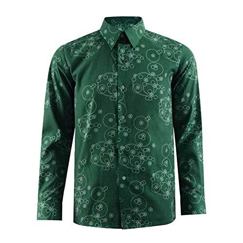 VOSTE Joker Costume Halloween Cosplay Party Outfit Arkham Asylum Suit for Men (X-Large, Shirt 2(Uniform Cloth)) ()
