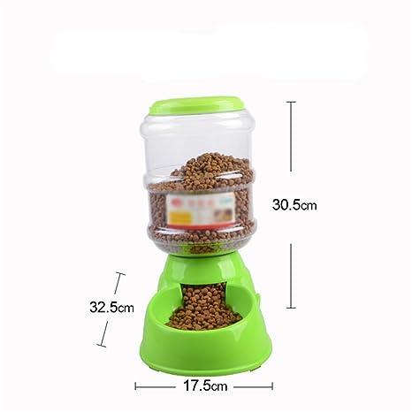 Pet Online Alimentador automático Gato y perro Grande Mediano Pequeño Animal doméstico Alimentador para mascotas de
