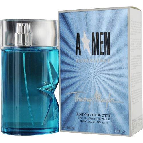 Thierry Mugler Angel Sunessence Eau De Toilette Spray for Men, 3.4 Ounce