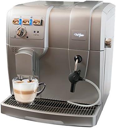 Del Gusto KM10 - Cafetera combinada espresso/goteo, color gris ...